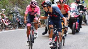 Giro 2021: Egan Bernal entra en crisi
