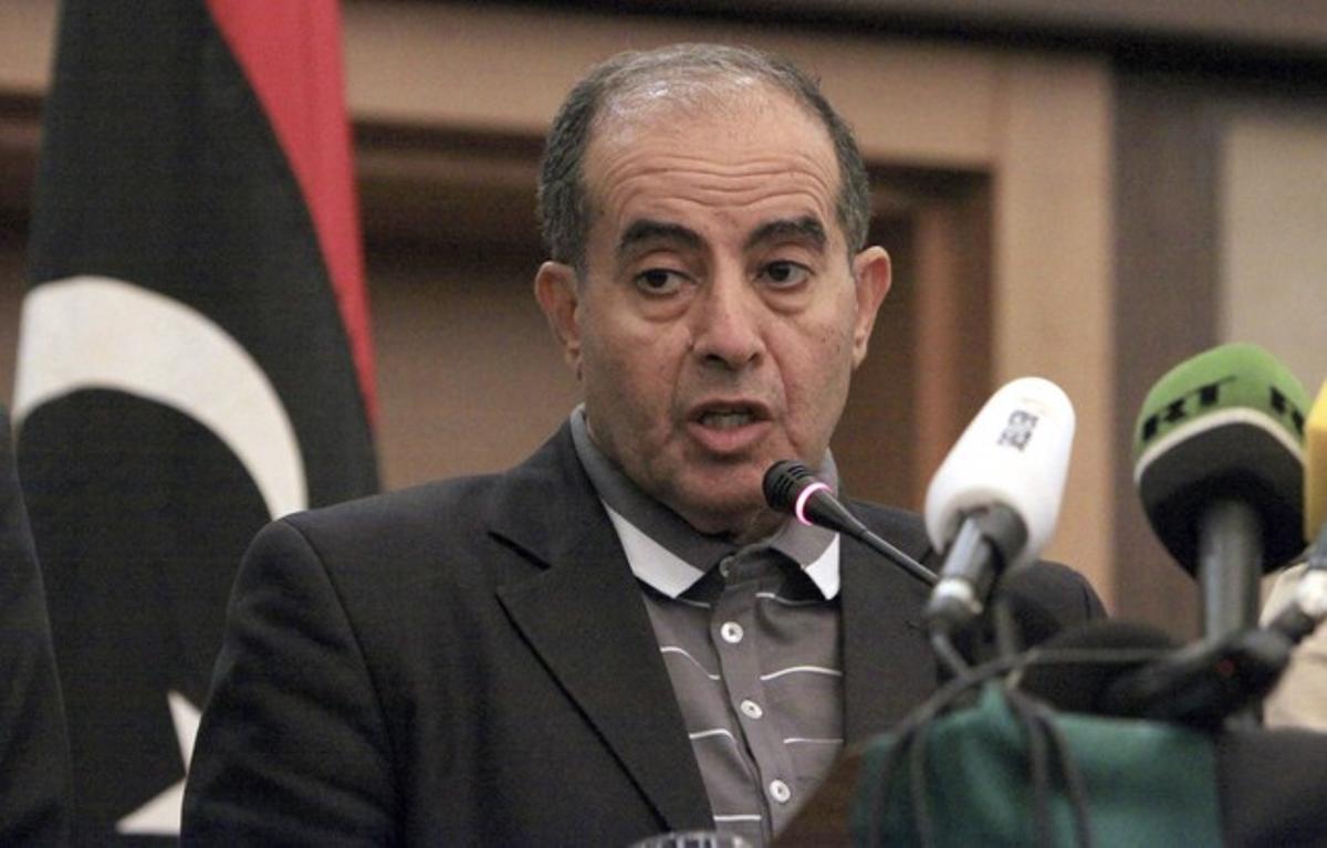 El exprimer ministro libio y líder de la Alianza Fuerza Nacional Mahmud Yibril, el pasado octubre en Trípoli.