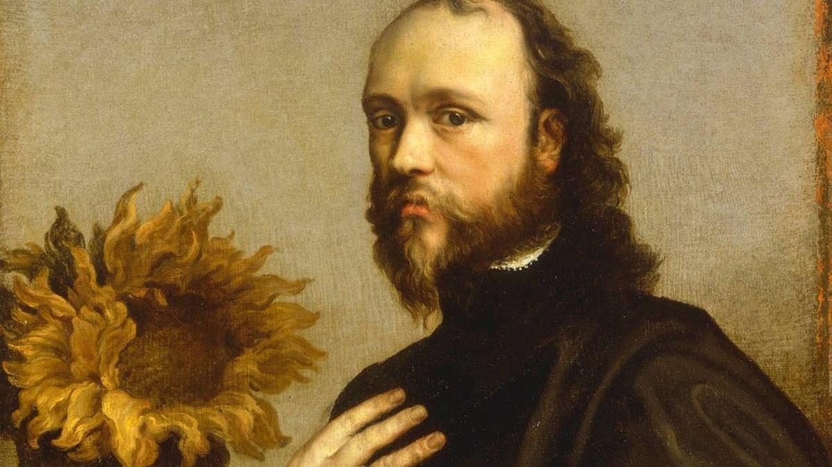 Kenelm Digby retrataado por Van Dyck (National Maritim Museum, Londres)