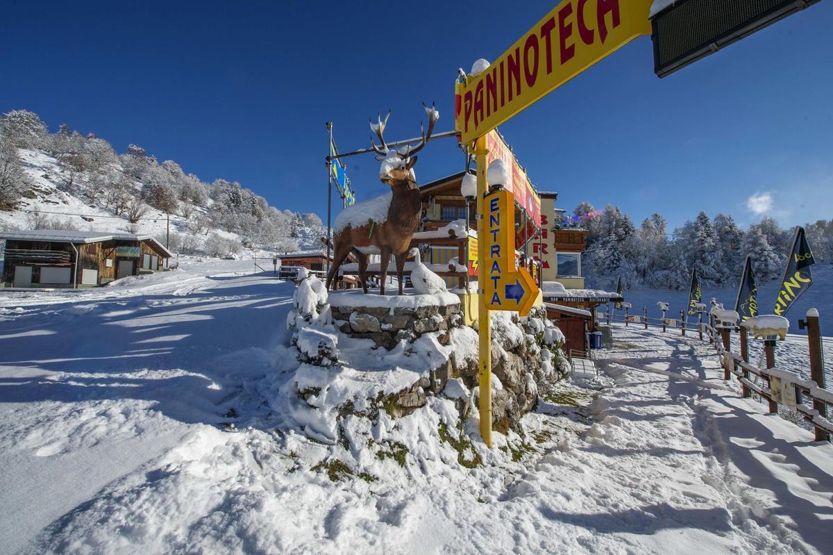 Estación de esquí de Piani di Bobbio, en Valsassina.