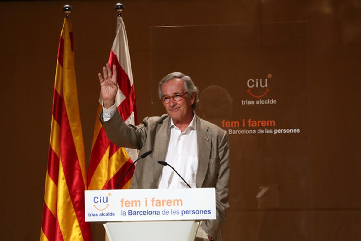 El alcalde de Barcelona, Xavier Trias.