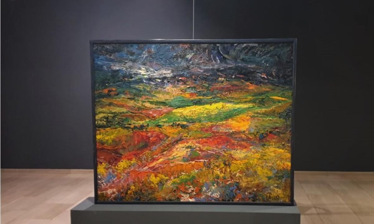 'Homenatge al paisatge del Vallès', de Joan Abelló.