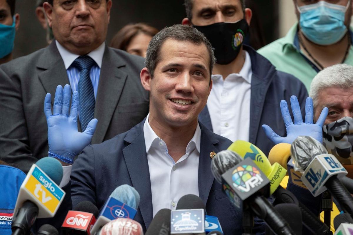 Guaidó es reconocido como presidente de Venezuela por más de medio centenar de países.