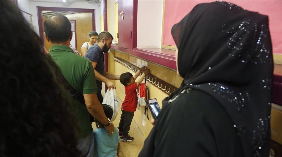 Inicio del curso escolar en la Escuela Octavio Paz