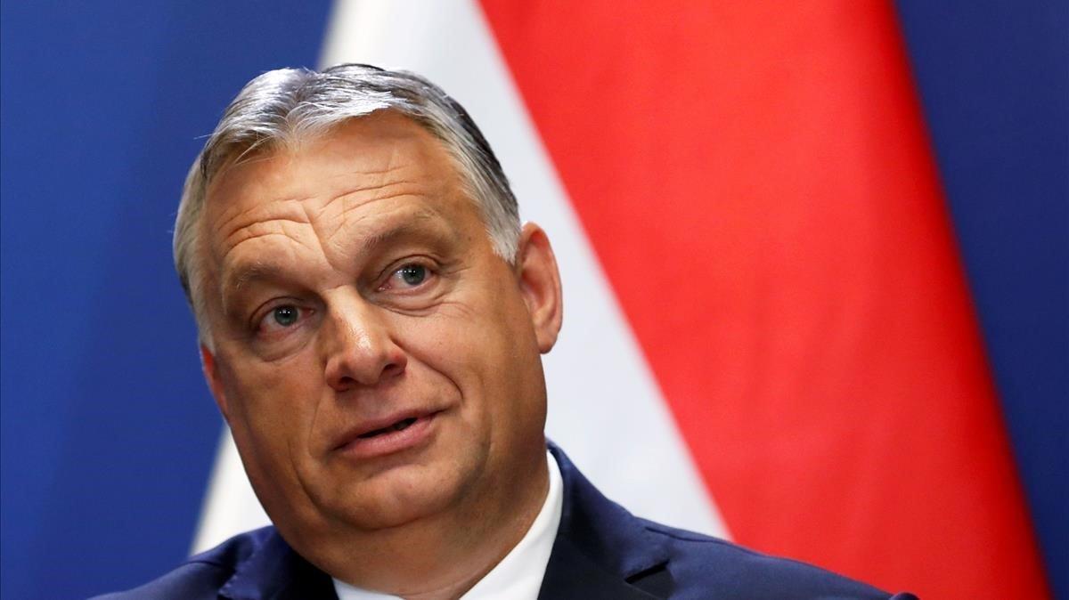 El primer ministro húngaro, Viktor Orban, en una rueda de prensa el pasado mes de junio en Budapest.