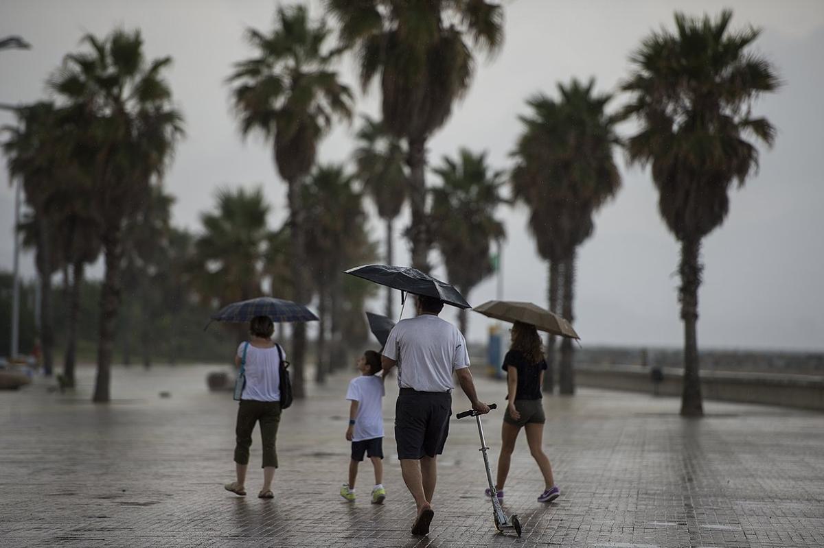 Alerta per pluges en les pròximes hores al Maresme