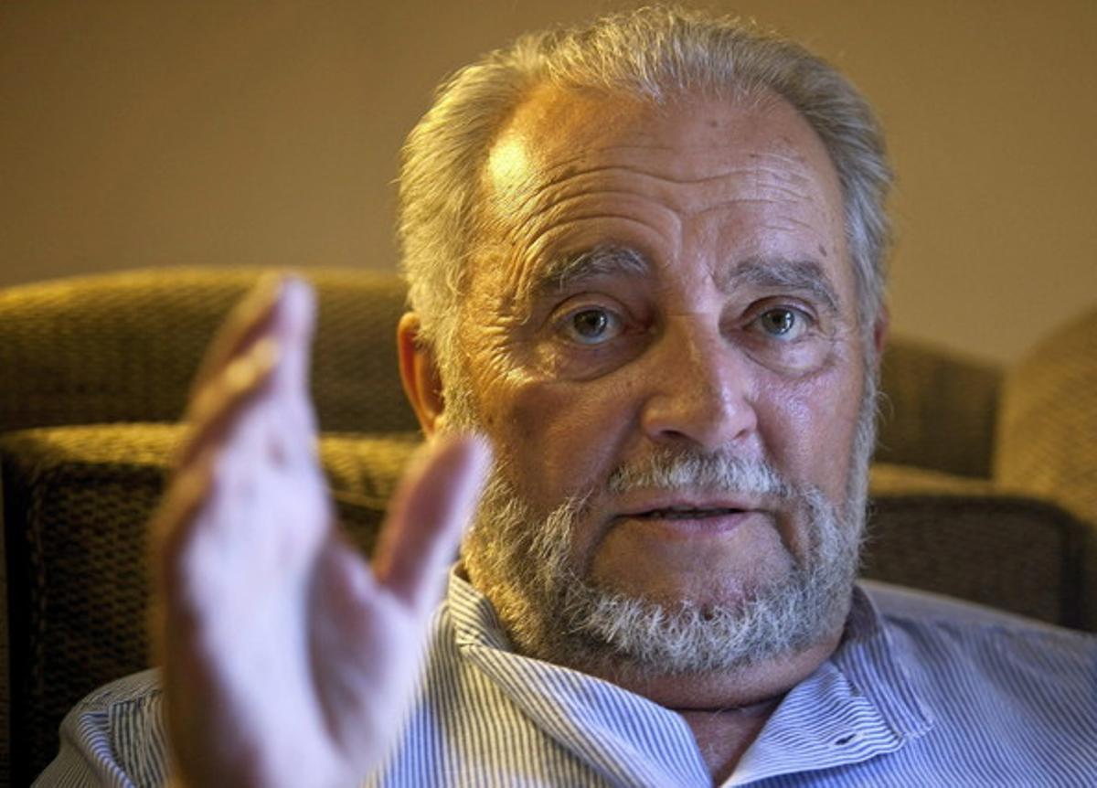 El excoordinador de Izquierda Unida, Julio Anguita, en una imagen de archivo en Córdoba.