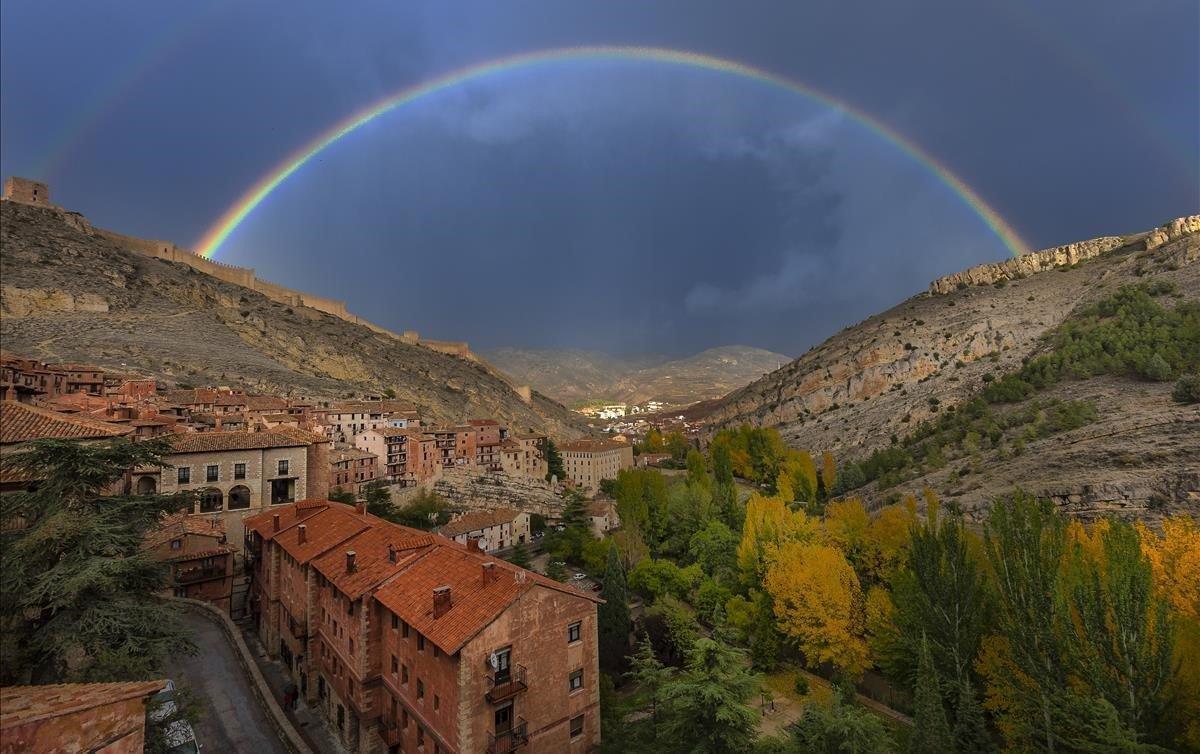 Vistas de Albarracín.