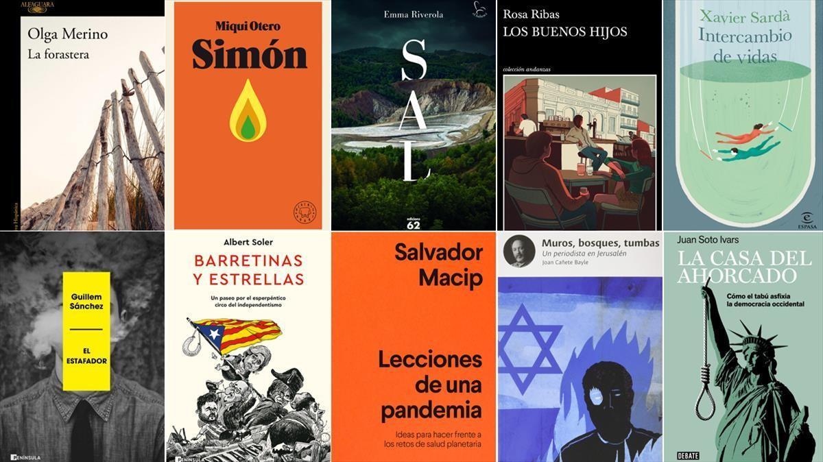 ICULT COMBO LIBROS COLABORADORES Y REDACTORES DE ELPERIODICO DE CATALUNYA SANT JORDI 2021