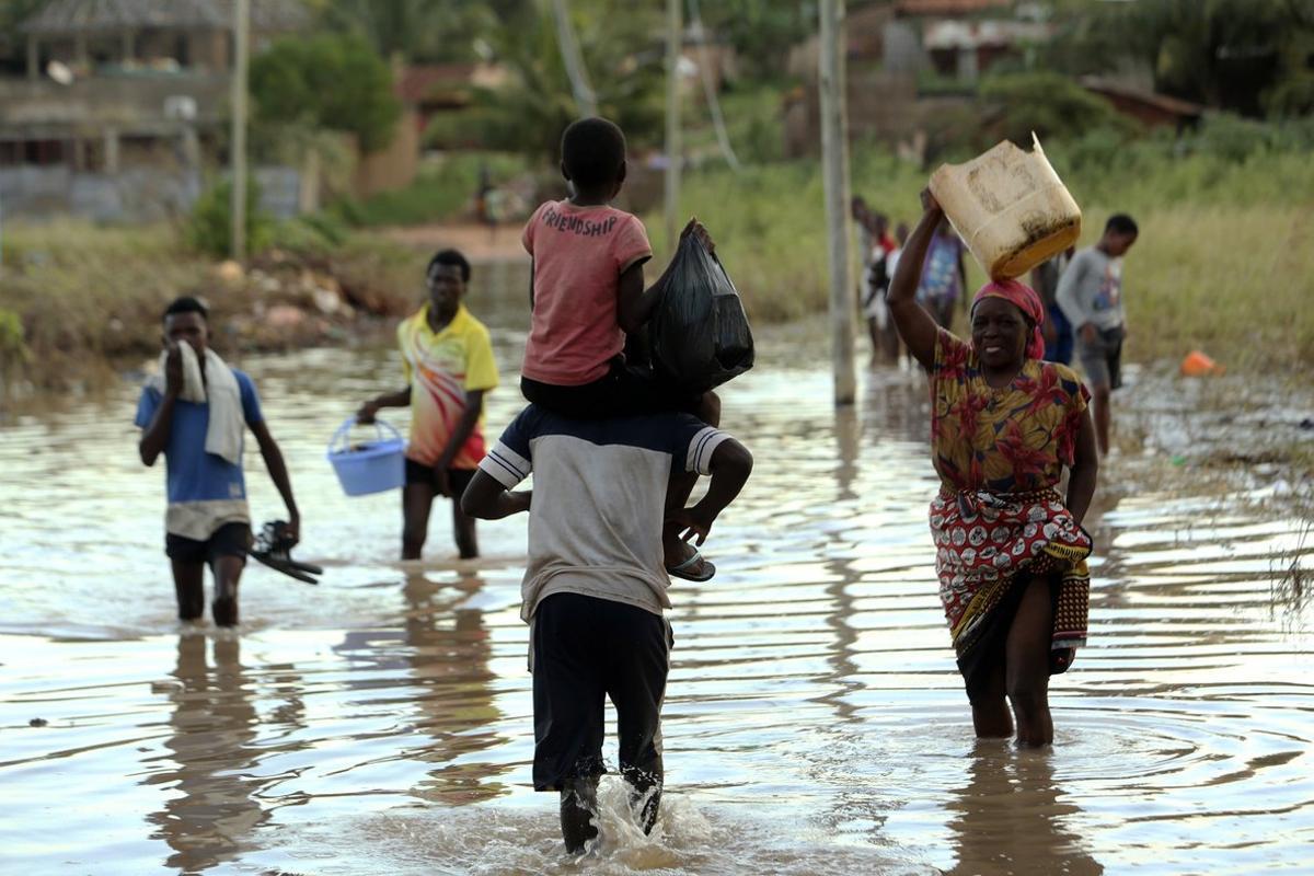 Elciclón Kenneth dejó devastadas muchas regiones de Mozambique.