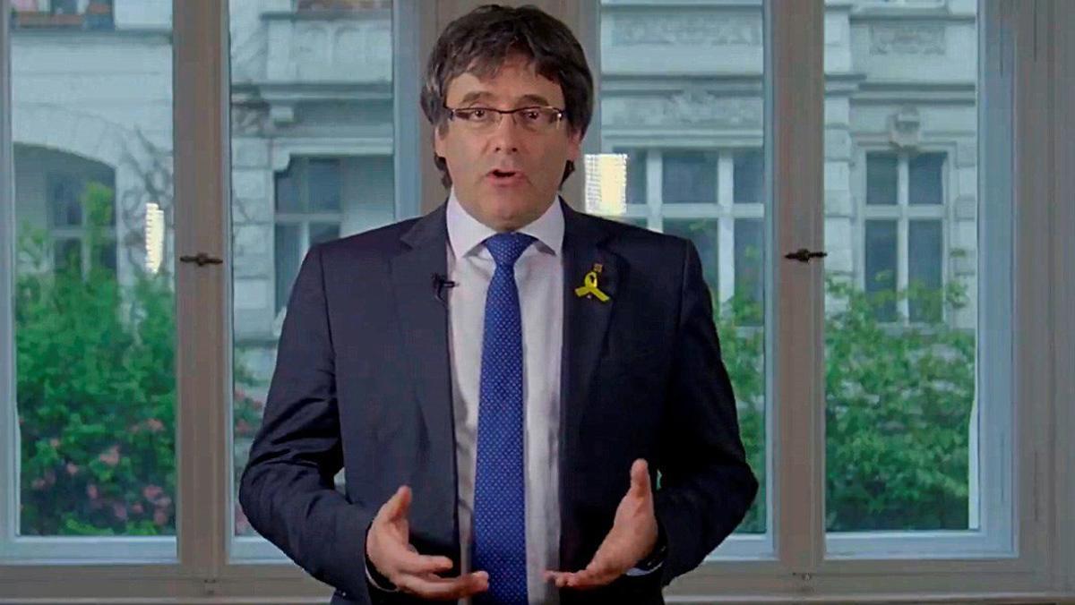 Puigdemont: Iniciamos la construcción de la República de las libertades