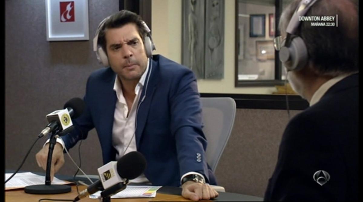 Benito (Julián López) en la tumba (`Fenómenos¿, A-3 TV).