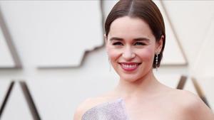 Emilia Clarke durante los Oscars este pasado mes de febrero.