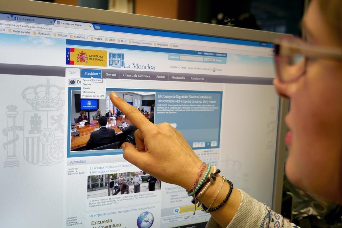 Imagen de la web de la Moncloa.