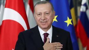 El presidente turco, Recep Tayyip Erdogan, en una imagen de archivo.