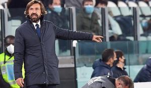 Andrea Pirlo durante el partido de este domingo entre la Juventus y el Hellas Verona.