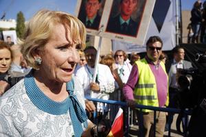 La presidenta del PP en Madrid, Esperanza Aguirre.