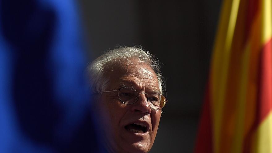 Discurso íntegro de Josep Borrell en la manifestación de Barcelona