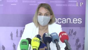 Las denuncias al centro de menores de Mogán obligan al desalojo urgente. Lo explica la consejera Noemí Santana.