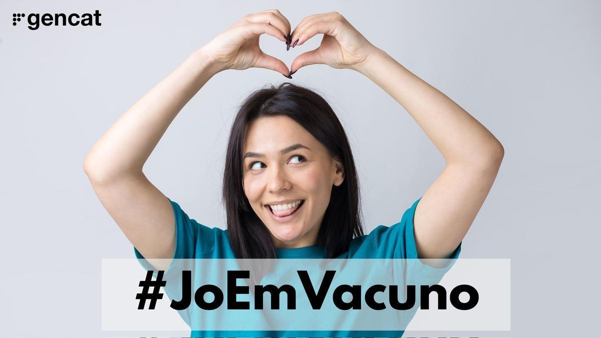 Campaña de la Generalitat para fomentar la vacunación entre universitarios