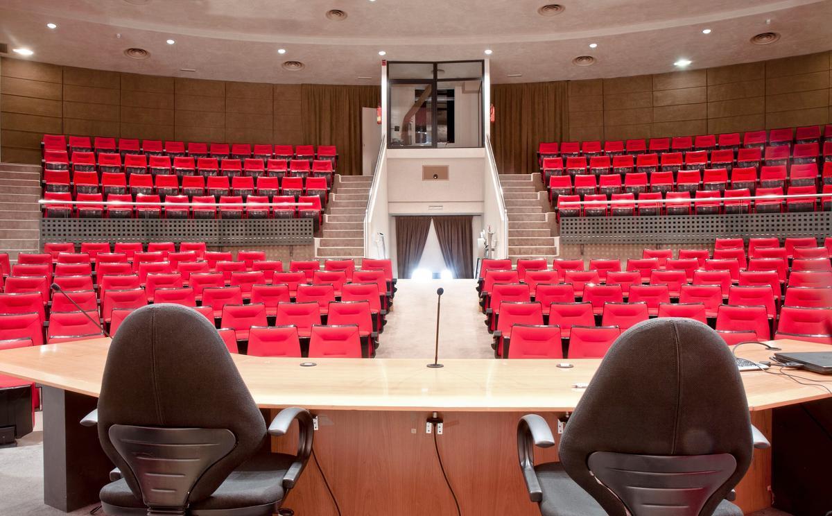 Auditorio del Club Diario de Mallorca.