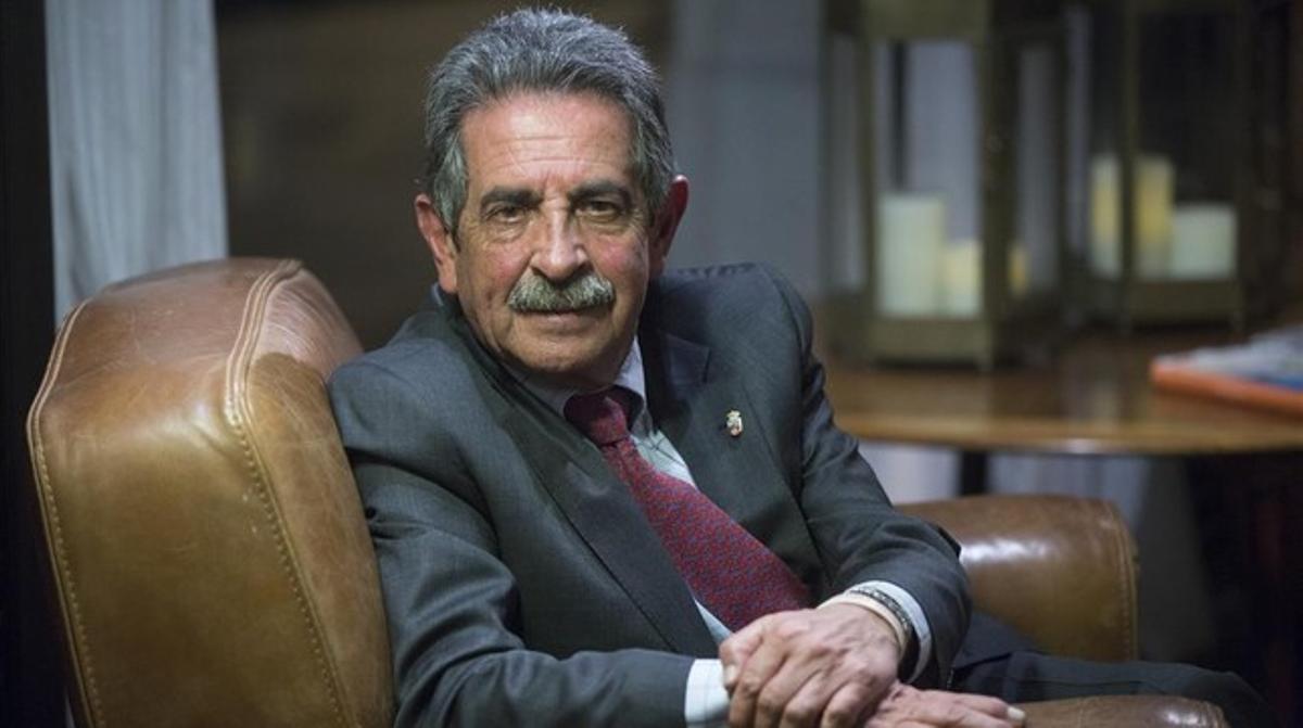 El presidente de Cantabria, Miguel Angel Revila.