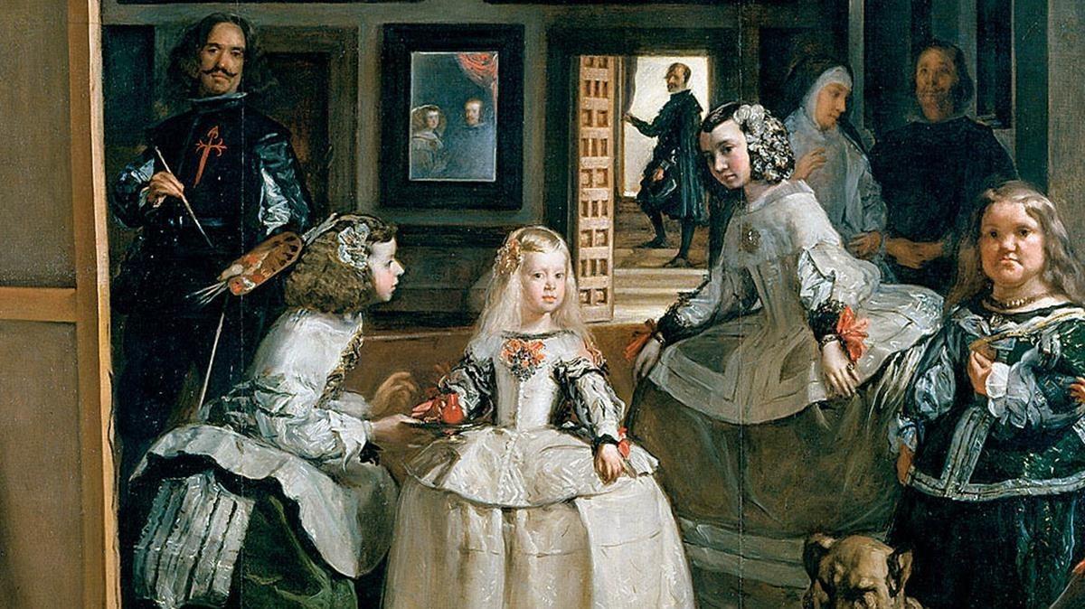 El cuadro 'Las Meninas', de Velázquez.