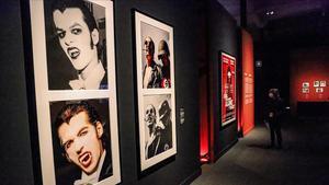 Sala de la exposición 'Vampiros', en el CaixaForum Barcelona.