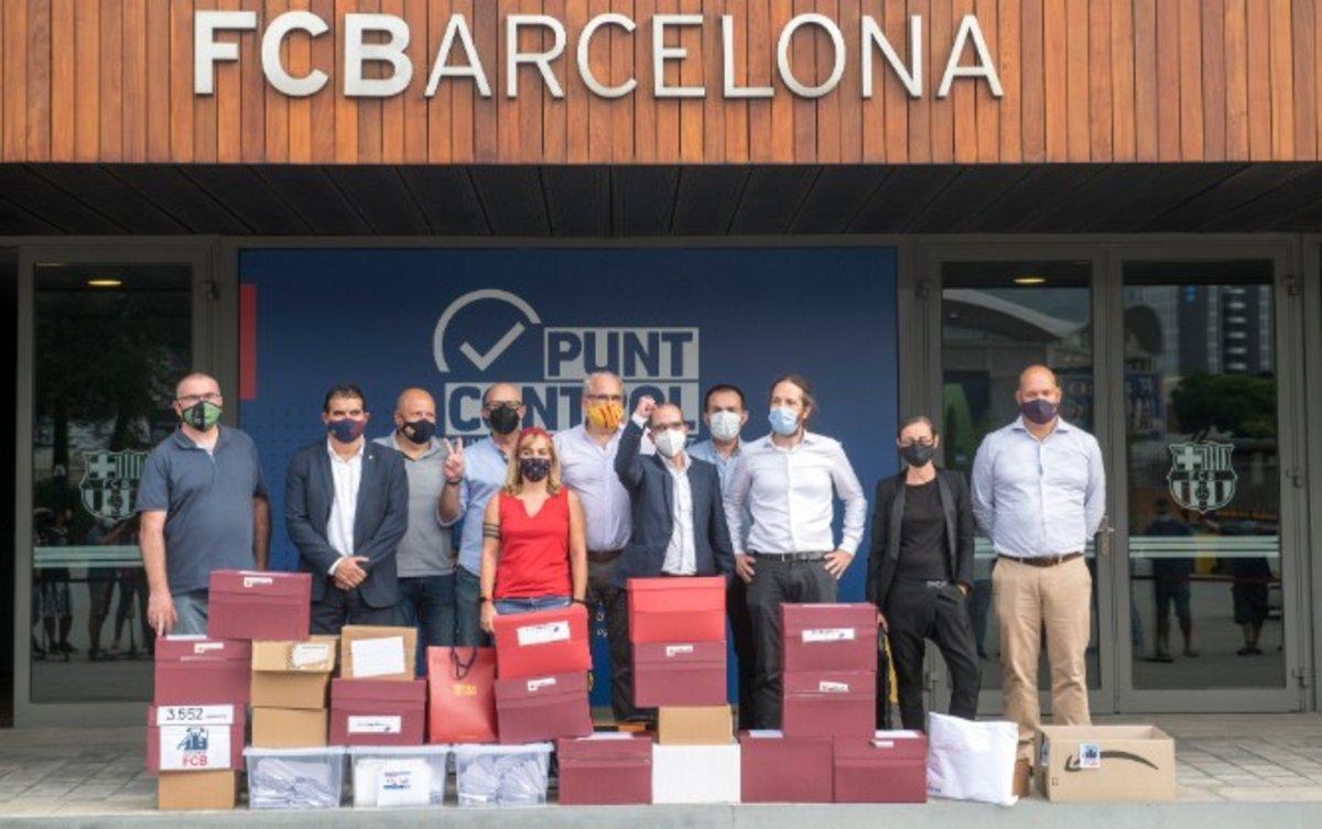 La moció de censura contra Bartomeu aconsegueix 20.731 firmes