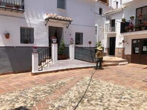 Una imagen de la localidad de Comares (Málaga).