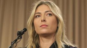 Sharapova, el pasado 7 de marzo, cuando confesó haber tomado Meldonium en el 2016.