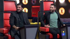 Antonio Orozco y Dani Rovira en 'La noche D'.