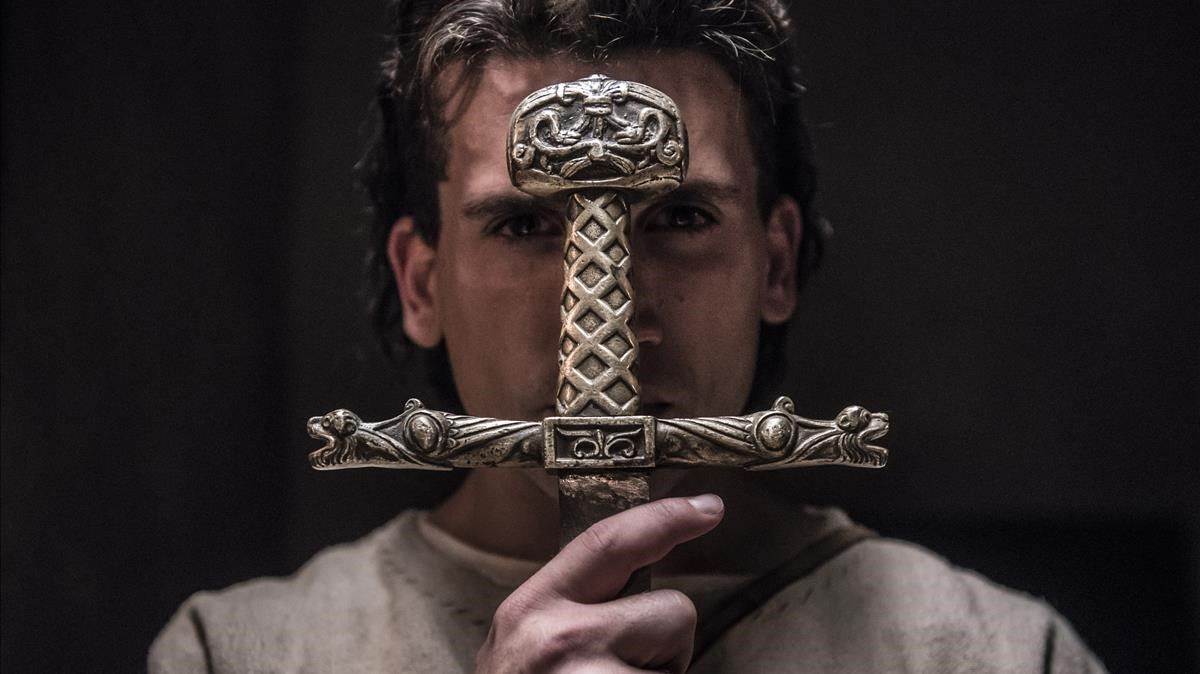 Jaime Lorente, en 'El Cid'.