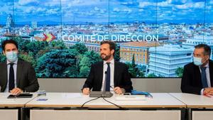 """García Egea: """"Iglesias tiene que nacer siete veces para hacer parte de lo que ha hecho Juan Carlos I por la democracia"""""""