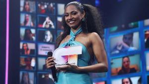 Nia desvela que todavía no ha recibido el premio de 'OT 2020' y Gestmusic aclara el motivo