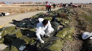 >Mueren todas las personas a bordo del avión ucraniano estrellado en Teherán