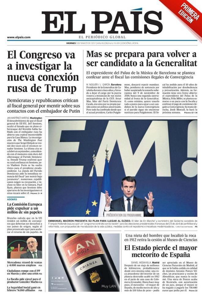 Marhuenda advierte a Rivera de que si hay pinza anti-PP Rajoy avanzará elecciones