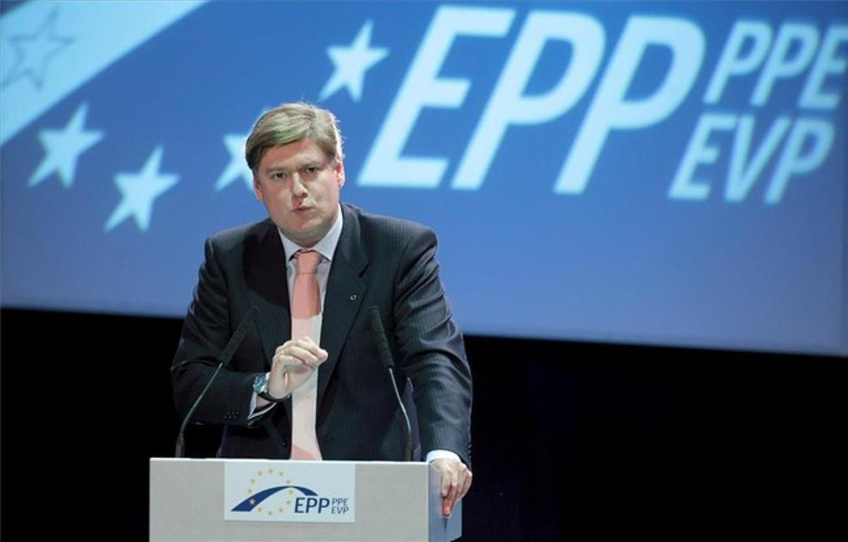 El dirigente del PP europeo Antonio López-Istúriz, en una imagen del 2009, en Varsovia. EFE
