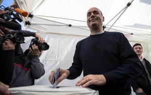 Nicola Zingaretti, nuevo líder del Partido Democrático de Italia.