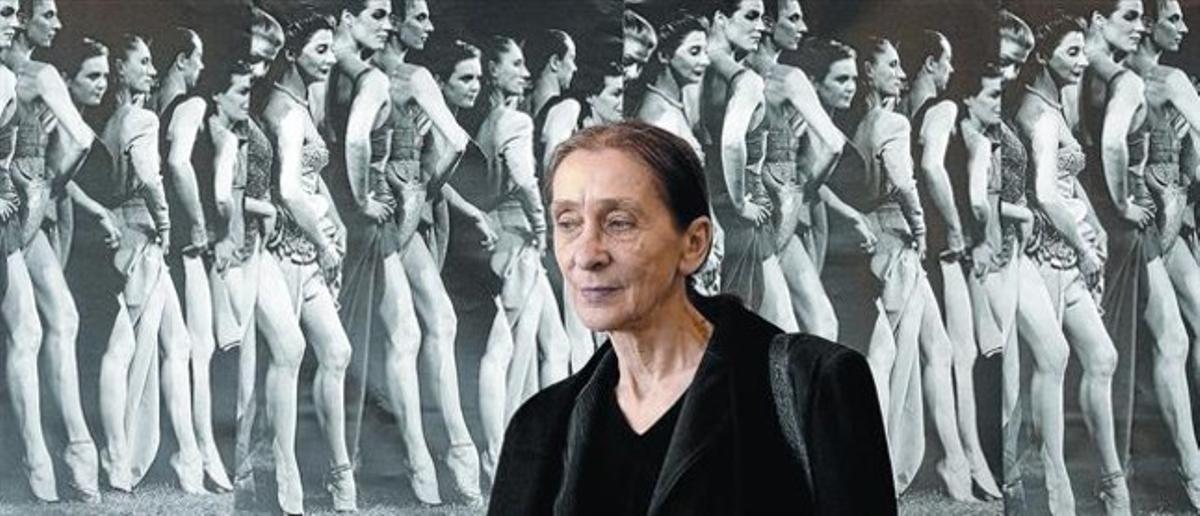 La prestigiosa coreógrafa alemana Pina Bausch, en una imagen tomada hace un año.