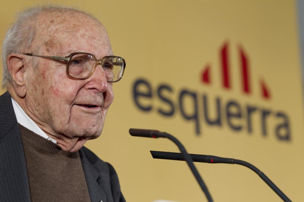 Heribert Barrera, en un acto en marzo del 2011.