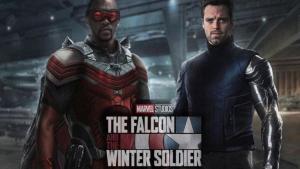 Imagen promocional de laserie Falcon & The Winter Soldier de Marvel.