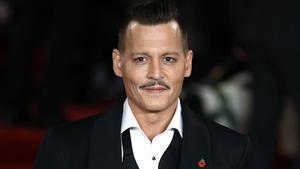Una imagen de archivo del actor Johnny Depp.