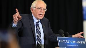 El aspirante demócrata a la Casa Blanca Bernie Sanders.
