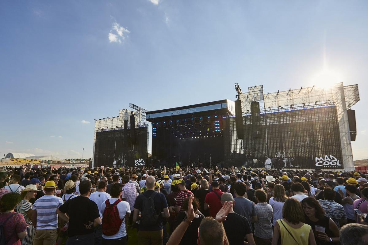 Uno de los escenarios del festival Mad Cool 2018.