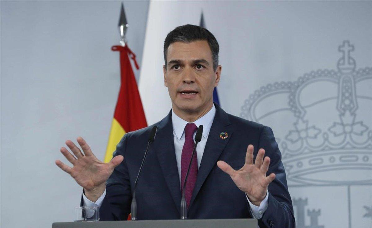 Sánchez s'esforça a tancar ferides amb Podem