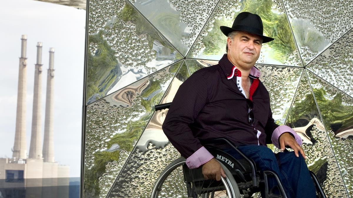 El activista antidesahucios Rafael Perona, en una imagen del 2011.