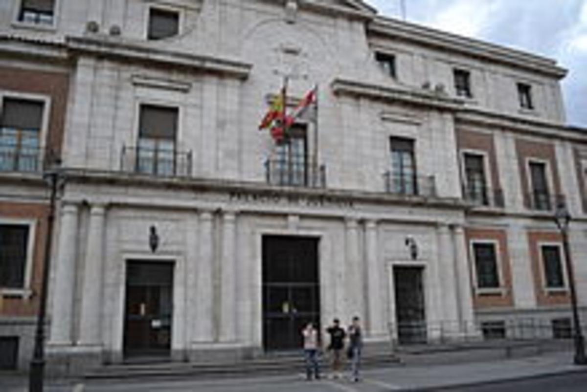Palacio de Justicia de Valladolid.