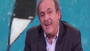 Platini: «El VAR és una merda»