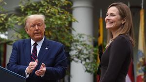 Trump nomina a la jueza Amy Coney Barret para el Supremo
